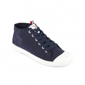 Canvas high top sneakers Celine navy | Les Tropeziennes