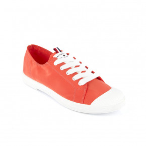 Canvas sneakers Chana coral | Les Tropeziennes
