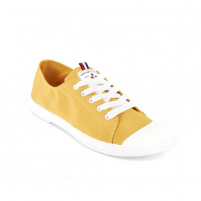 Canvas sneakers Chana yellow | Les Tropeziennes