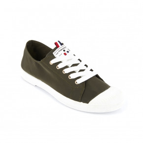 Canvas sneakers Chana khaki | Les Tropeziennes