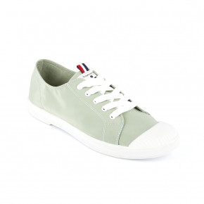 Canvas sneakers Chana lignt green | Les Tropeziennes
