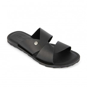 Men leather mule Daya black | Les Tropeziennes