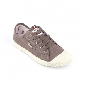 Canvas sneakers Floride dark grey | Les Tropeziennes