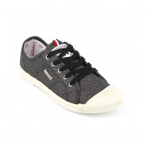 Canvas sneakers Floride black | Les Tropeziennes