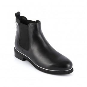 Leather Chelsea boots Micky black   Les Tropeziennes